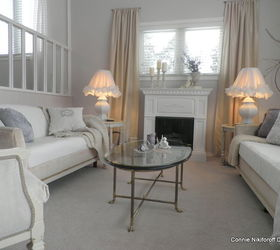Neutral Living Room Decor With French Influences, Fireplaces Mantels, Home  Decor, Living Room