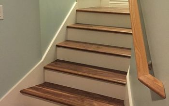 New Walnut Stairs for the New Year