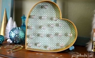 diy heart marquee light, crafts, lighting, seasonal holiday decor, valentines day ideas