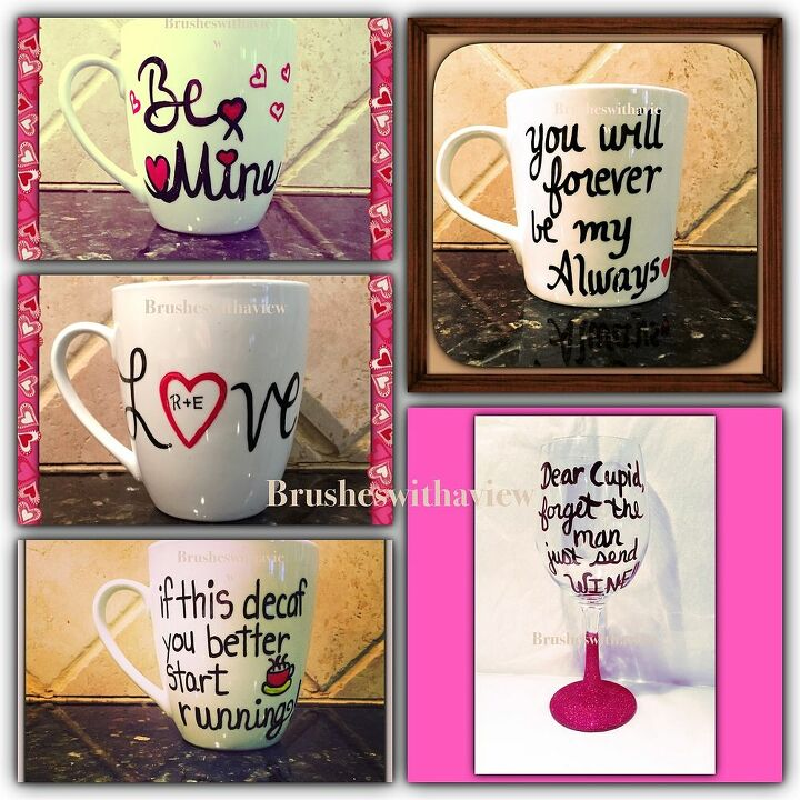 Diy Personalized Mugs For Valentine S Day Hometalk