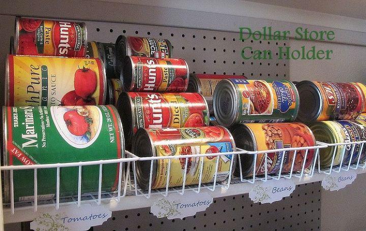 1 can food organization, organizing