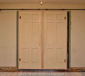 Diy Barn Door Style Doors With A Twist, Doors, The Doors In Their Original