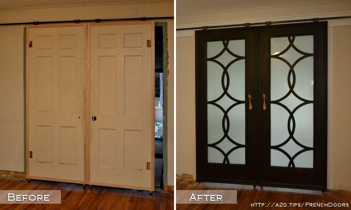 diy barn door style doors with a twist, doors
