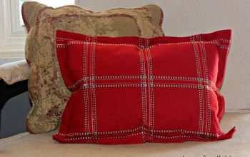 5 Minute Flanged Pillow Tutorial