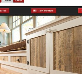 Has anyone made replacement cabinet doors with pallets? | Hometalk
