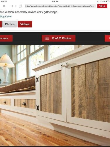 Has anyone made replacement cabinet doors with pallets ...