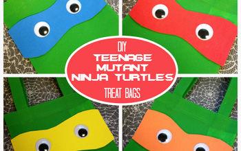 DIY Ninja Turtles Treat Bags