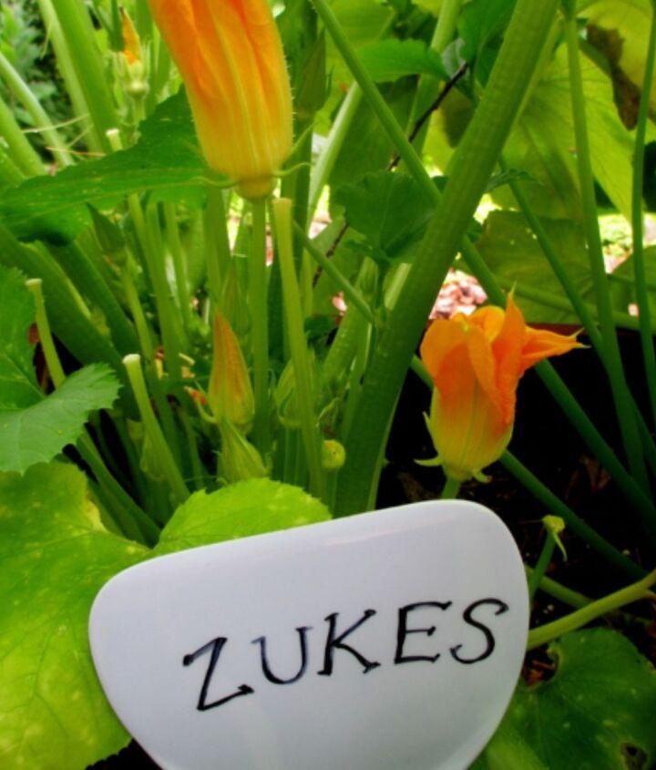 Dollar Store Spatula Plant Marker