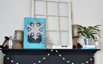 Five Tips For A Winter Mantel