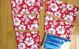 diy rice heat packs, crafts, how to, repurposing upcycling