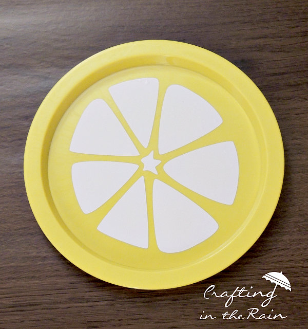 diy citrus plates from the dollarstore, crafts, how to