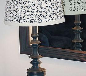 Brass Lamp Revamp, Chalk Paint, Crafts, Lighting