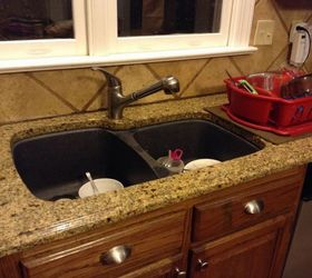 I Too Bought A 1 Basin Farm Sink With A 4 Hole Faucet.