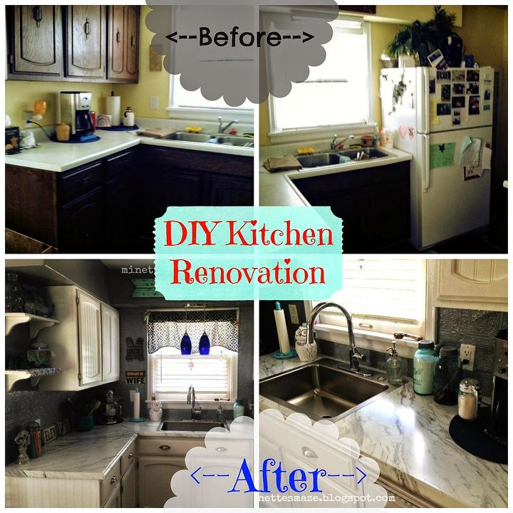 DIY Kitchen Reno-Reuse Repaint What You Got!! | Hometalk