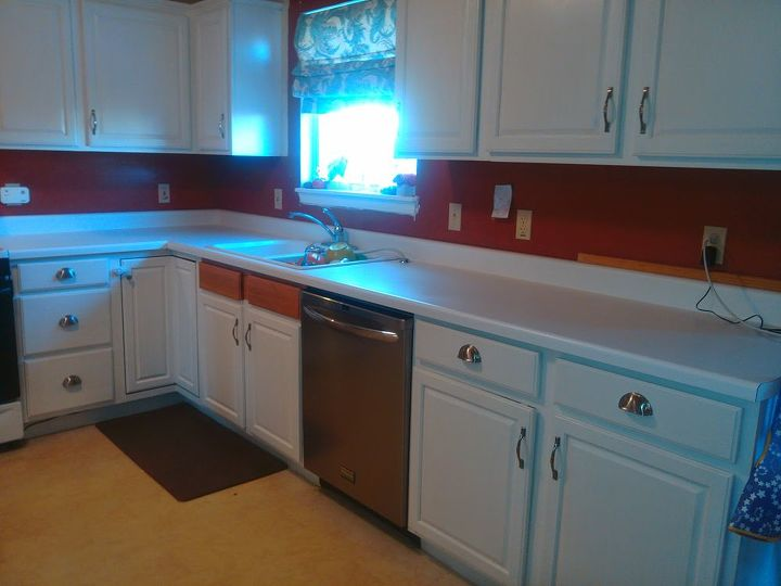 gorgeous diy kitchen countertops for 120, countertops, kitchen design