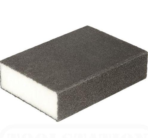 This foam sanding tool is fine grit