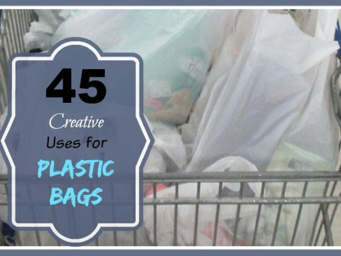 45 creative uses for plastic shopping bags, cleaning tips, diy, gardening, home maintenance repairs