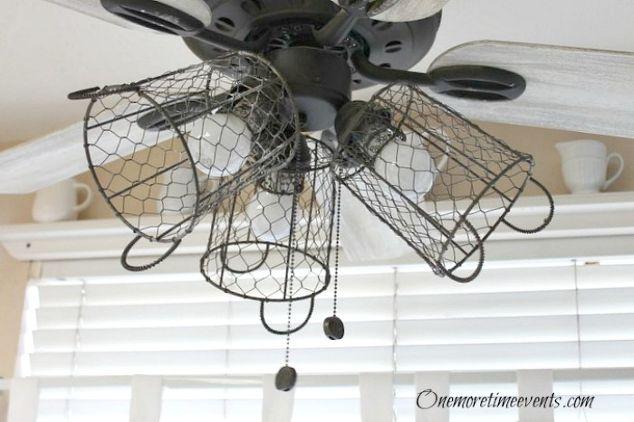 How I Gave My Ceiling Fan A Farmhouse Style Hometalk