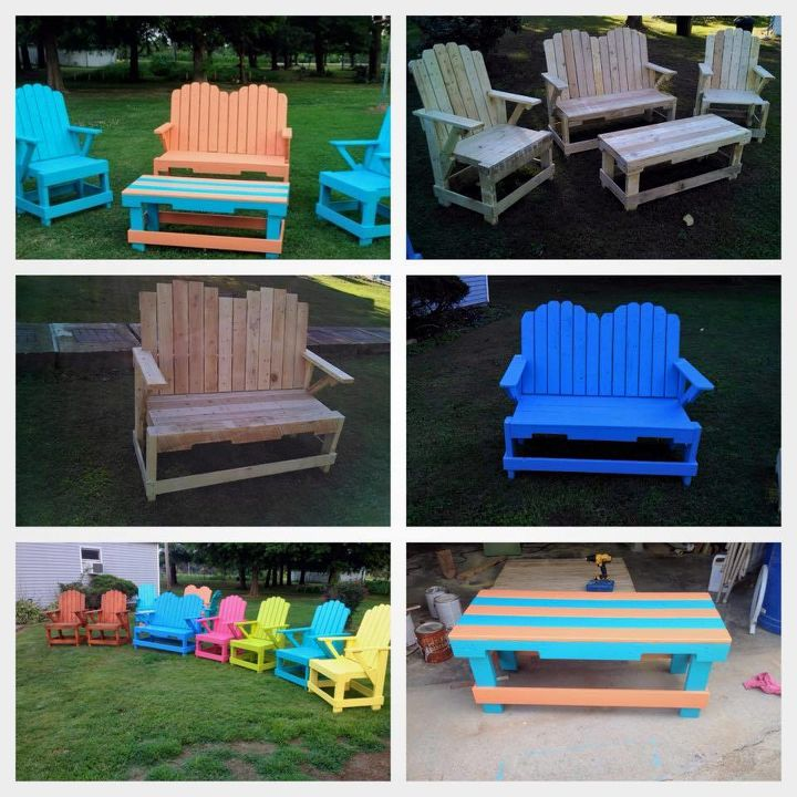 q best way to ship outdoor furniture, how to, outdoor furniture, painted furniture