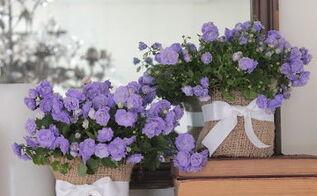 dollar store burlap covered vases, crafts