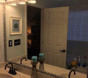 How to Frame a Bathroom Mirror With Mosaic Tile Hometalk