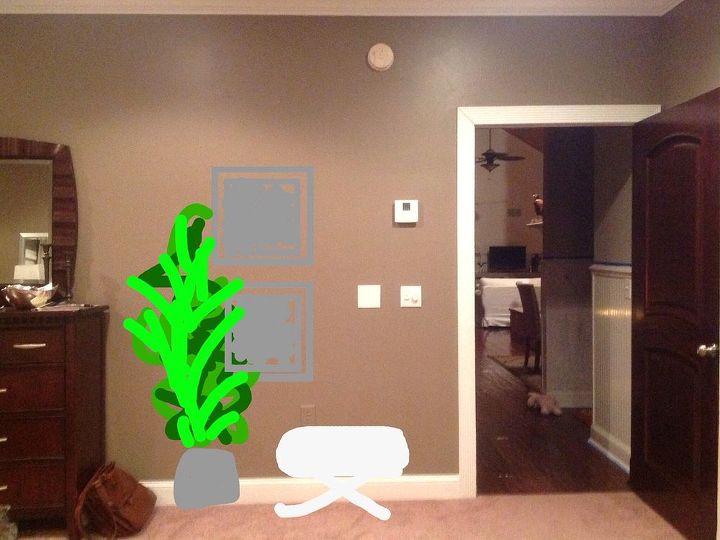 Empty Space By Bedroom Door Hometalk