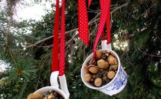 repurposed tea cups to bird feeders, outdoor living, pets animals, repurposing upcycling, Teacup Birdfeeders