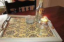 repurposed old picture frames to serving trays, crafts, repurposing upcycling