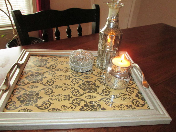 Repurposed Old Picture Frames to Serving Trays | Hometalk