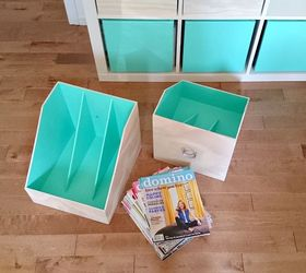 Diy Plywood Magazine File, Crafts, How To, Organizing, Painted Furniture,  Storage