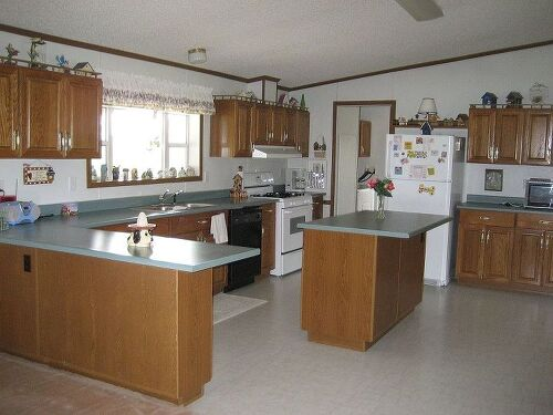 How To Redo Walls And Cabinets In My Mobile Home..