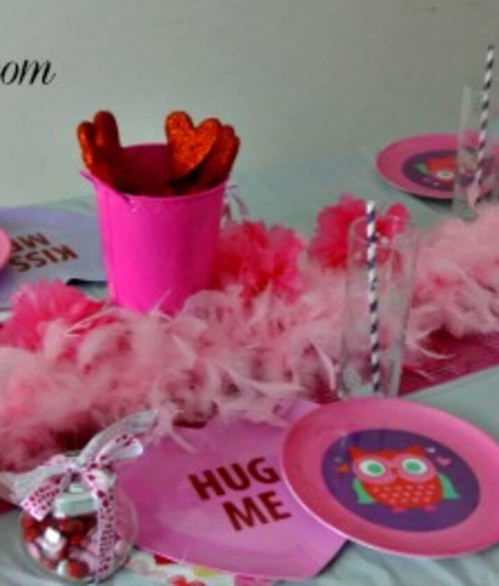 Owl Be Your Valentine Table Decor Idea Hometalk
