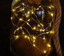 diy glimmer cloche, crafts, how to, lighting