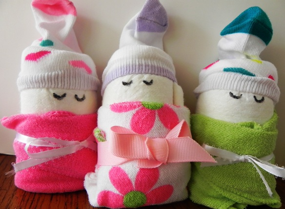 repurposed diaper babies make the best gifts, crafts, repurposing upcycling