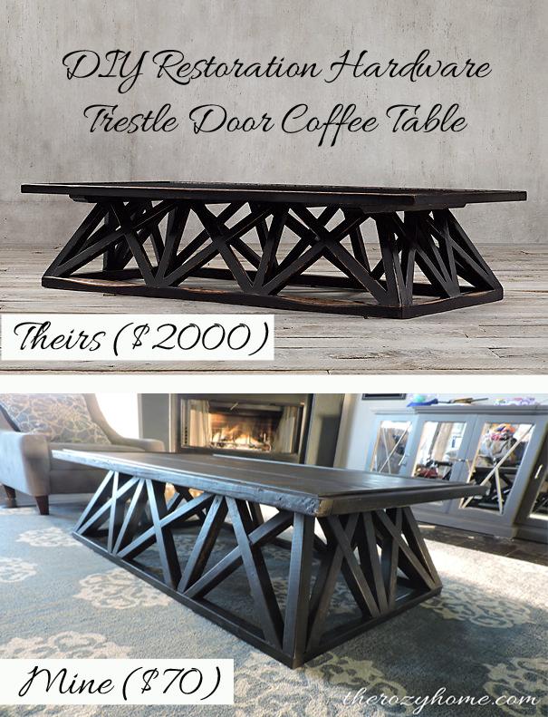 Ideal $70 DIY Restoration Hardware Inspired Coffee Table   Hometalk DA33