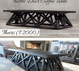70 Diy Restoration Hardware Inspired Coffee Table, Painted Furniture