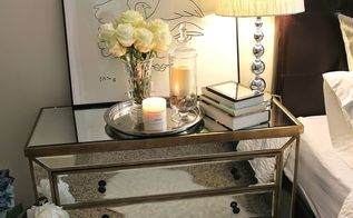 nightstand decor, bedroom ideas, home decor