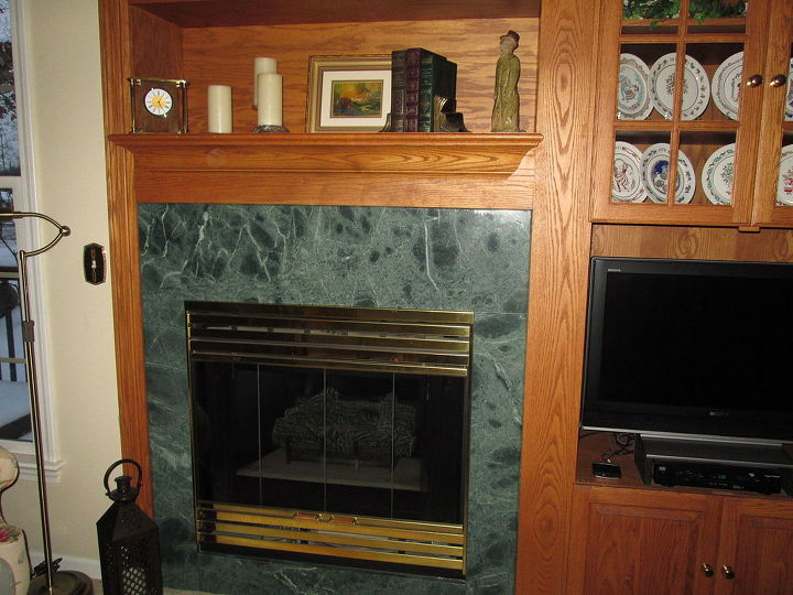 Tremendous How To Update The Fireplace Without Ripping Out The Existing Download Free Architecture Designs Meptaeticmadebymaigaardcom