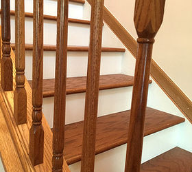 Amazing The Classic Look Dark Treads And White Risers Diy Stairs, Stairs,  Woodworking Projects,