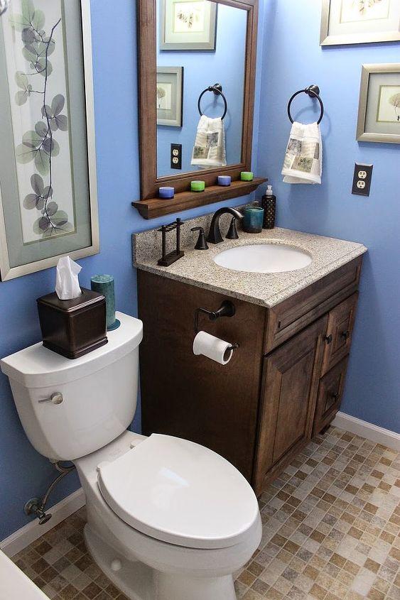 DIY Small Bathroom Renovation Hometalk Enchanting Bathroom Remodel Small