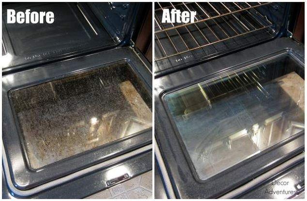 How To Clean Your Oven Door Naturally Hometalk