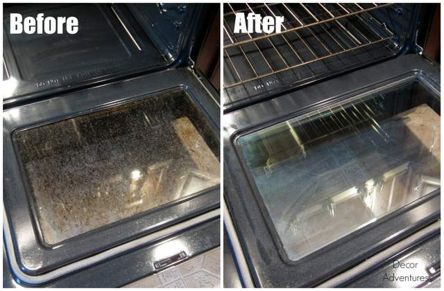 How To Clean Your Oven Door Naturally Cleanit Liances Cleaning Tips