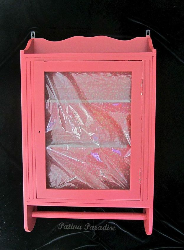 turning a plain cabinet into something beautiful using paint and vinyl, crafts, painted furniture, repurposing upcycling