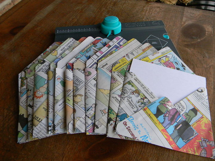 Making Envelopes From Recycled Paper Hometalk