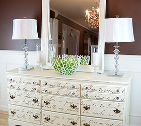 Thrift Store Dresser Redo With Paint And Stencils, Painted Furniture,  Repurposing Upcycling ...