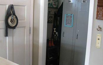 Basic Entry Closet Gets a Repurposed Redo...
