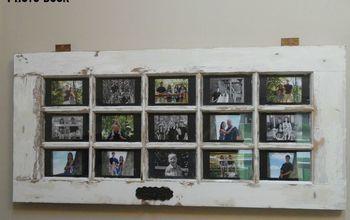 repurposed door to wall photo art, doors, repurposing upcycling, wall decor, woodworking projects
