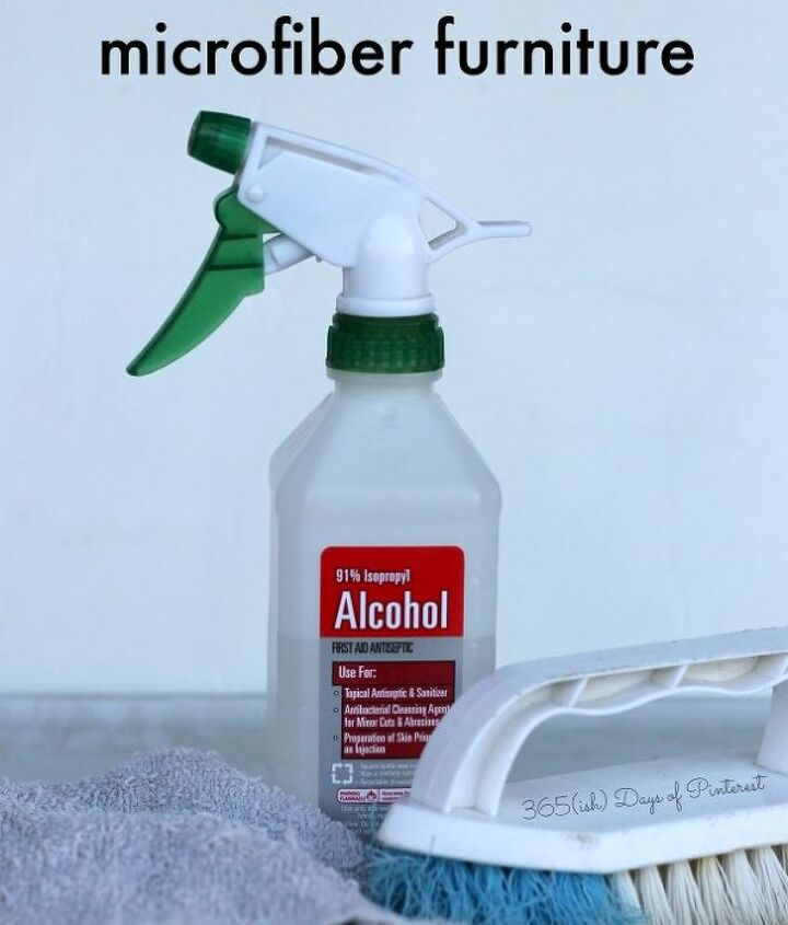 how to clean microfiber furniture, cleaning tips, how to