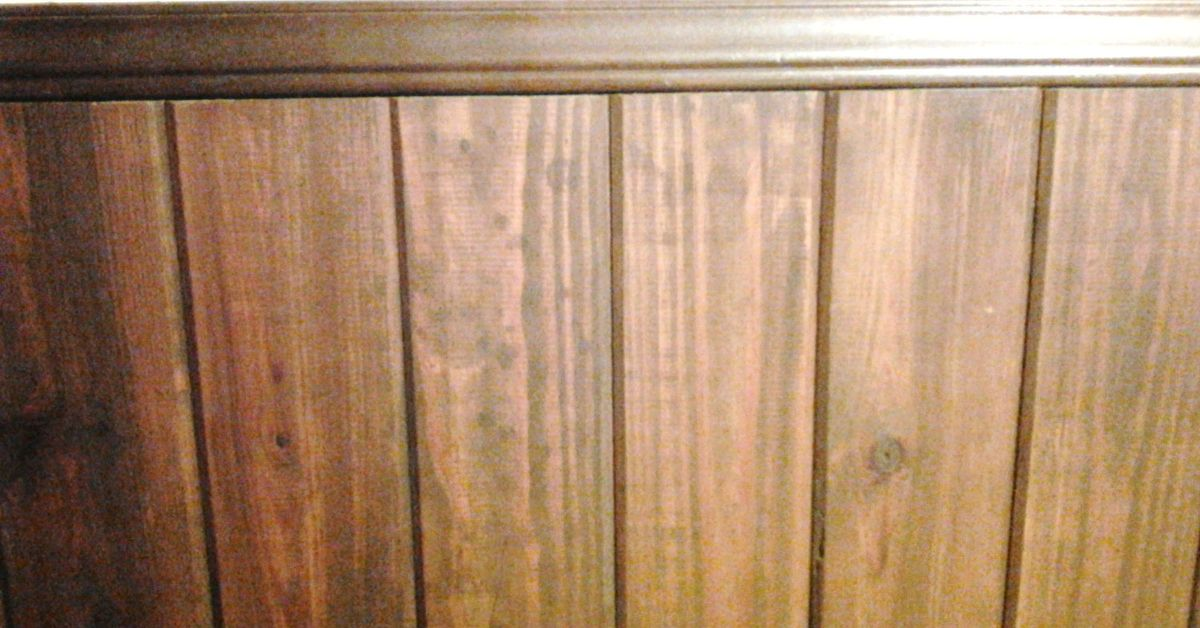 . How would you clean an old wood plank wall    Hometalk