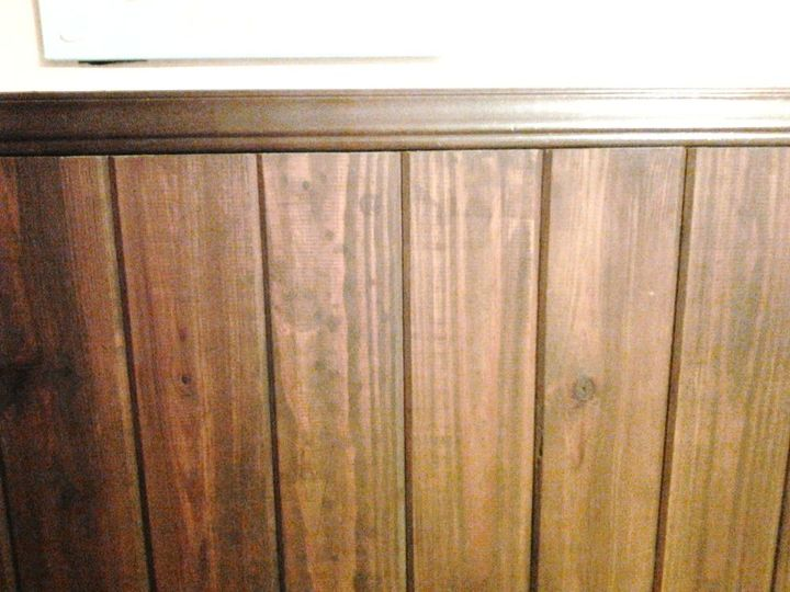 How Would You Clean An Old Wood Plank Wall Hometalk